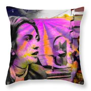 Tranquility Before Tempest Throw Pillow