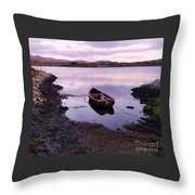 Tranquility In County Galway Throw Pillow
