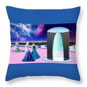 Tranquility Lake Throw Pillow