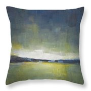 Tranquility Of The Sunset Throw Pillow