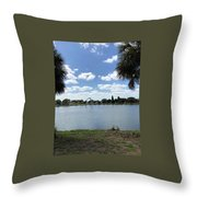 Tranquility - Port Richey, Florida Throw Pillow