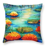 Tranquility V  Throw Pillow