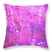 Transcend The Ripples Throw Pillow