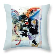 Transcendance  Throw Pillow