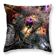 Transcendence In Retrograde Throw Pillow
