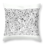 Transcendental Throw Pillow