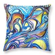 Transcending Mutations - 2 Throw Pillow