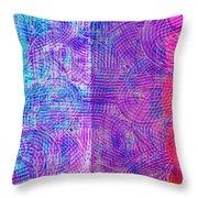Transchromigration #1 Throw Pillow