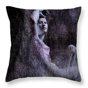 Transcribed Emergence Throw Pillow