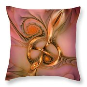 Transferring Affections Throw Pillow
