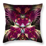 Transfigured Future Throw Pillow