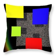 Transformation II Throw Pillow