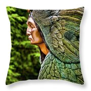Transformation Through Forgiveness Throw Pillow