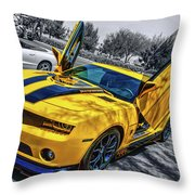 Transformers Bumble Bee 2 Throw Pillow