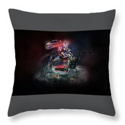Transformers Dark Of The Moon Throw Pillow