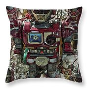 Transformique For Sale Throw Pillow by Gwyn Newcombe