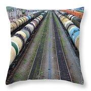 Transiberiana Throw Pillow