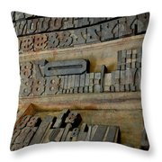 Transient Elements Throw Pillow