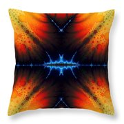 Transient Propagation Throw Pillow