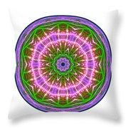 Transition Fcircle Throw Pillow