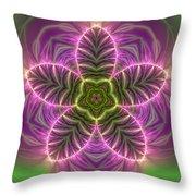 Transition Flower Throw Pillow