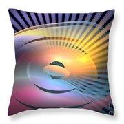 Transitory Throw Pillow