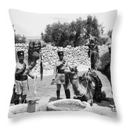 Transjordan: Frontier Guards Throw Pillow