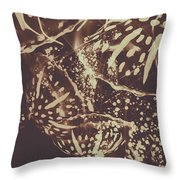Translucent Abstraction Throw Pillow