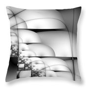 Transmute Throw Pillow