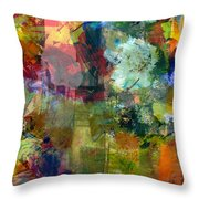Transparent Layers Two Throw Pillow