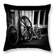 Transport Throw Pillow