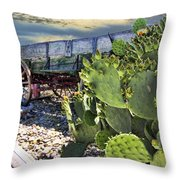 Transport Of A Forgotten Era Throw Pillow