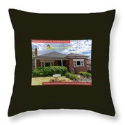 Transportable Homes For Sale  Throw Pillow