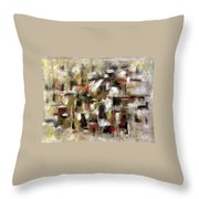 Transverse Throw Pillow