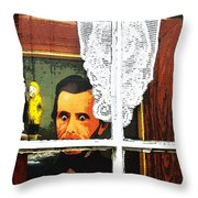 Trapped In Cape Cod Throw Pillow