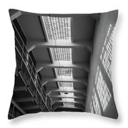 Trapped In Shadows Throw Pillow
