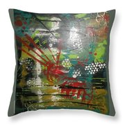 Trapped Soul Throw Pillow