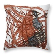 Trashed - Tile Throw Pillow