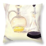 Trasluscent Objects 2 Throw Pillow
