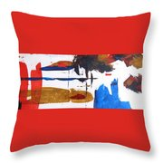 Travel Bugs Throw Pillow