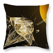 Travel In Time To 1969 Circle The Sun Throw Pillow