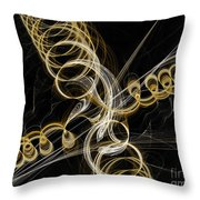 Travel In Time To 1969 Spring Into Space Throw Pillow