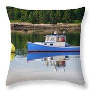 Travel New England  Throw Pillow