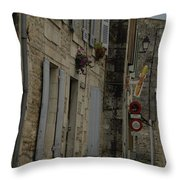Travel Photography France Throw Pillow