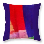 Travel Shopping Colorful Scarves Abstract Series India Rajasthan 1f Throw Pillow