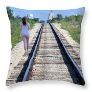 Travel With A Purpose  Throw Pillow