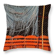 Traveler Field Forgotten Throw Pillow