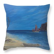 #25 Traveling On Throw Pillow