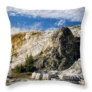 Travertine Dome Throw Pillow