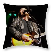 Travis Tritt Country Music Singer Throw Pillow